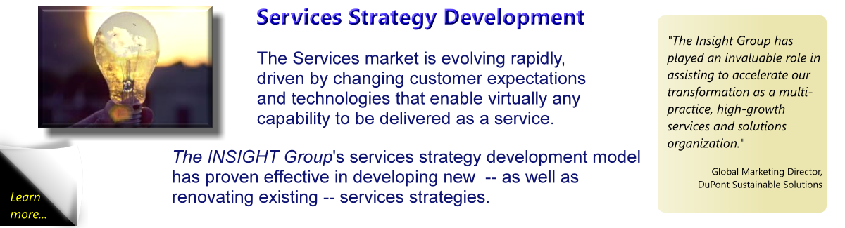 Services Market Evolution